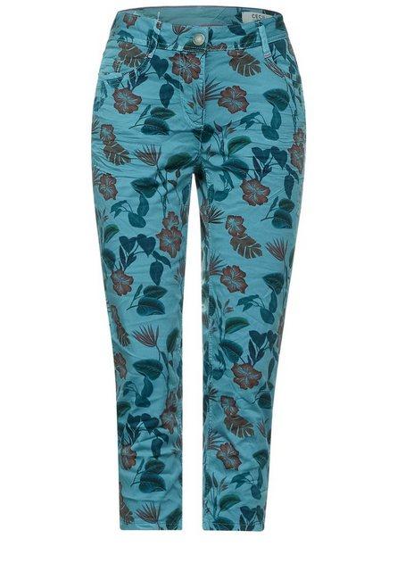 Hosen - Cecil 7 8 Hose 5 Pockets Style › blau  - Onlineshop OTTO
