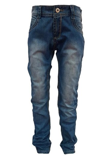 Family Trends Bequeme Jeans mit Taillengummizugband