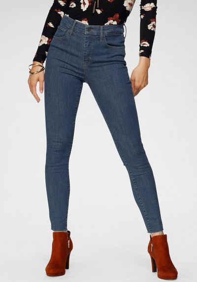 Levi's® Skinny-fit-Jeans »720 High Rise« High Waist mit offenem Saum