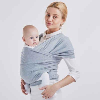 Favson Tragetuch »Babytragetuch Kindertragetuch, Atmungsaktiv Tragetuch Unisex-Babytrage Koala-Kuschelband-Babytrage für Neugeborene bis 15 kg Leicht zu Tragen«