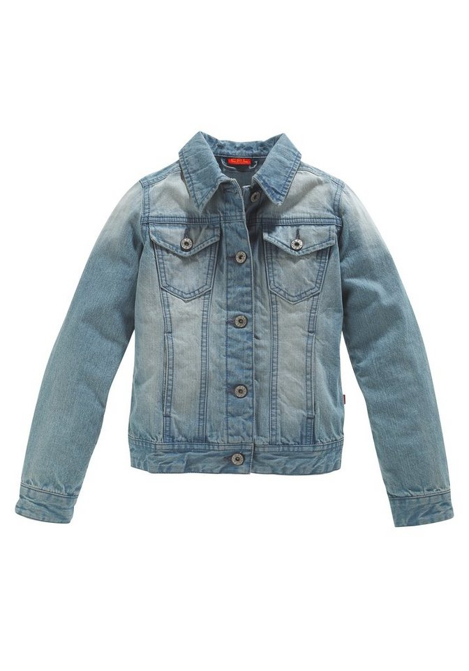 CFL Jeansjacke mit toller Waschung in blue-used