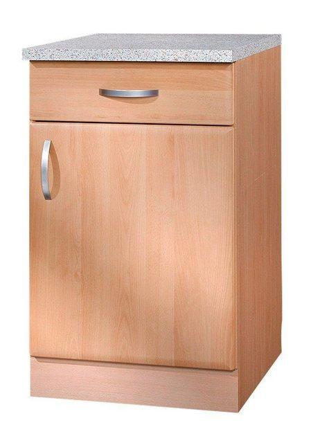 Küchenschränke - wiho Küchen Unterschrank »Prag« Breite 50 cm  - Onlineshop OTTO