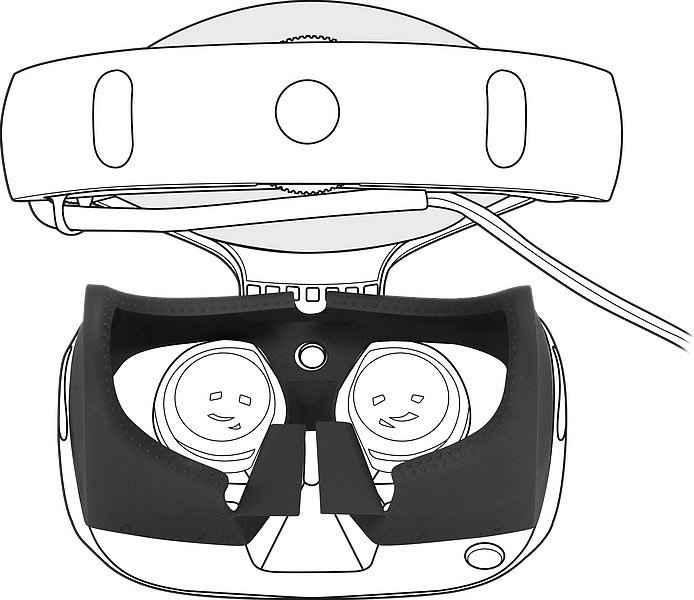 Speedlink »GUARD Silikon-Überzug PS VR Brille« Zubehör PlayStation 4