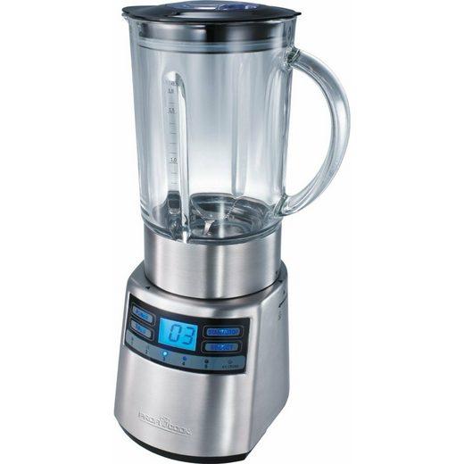 ProfiCook Küchenmaschine Universalmixer 1200 W 1,8 L Silber PC-UM 1006 1.200 Watt Ice-Crush-Funktion