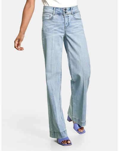 Taifun Stretch-Jeans »Weite Jeans Wide Leg TS« (1-tlg) Marlene / Culotte
