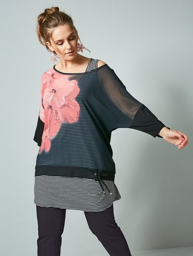 Janet & Joyce by Happy Size Shirt mit separatem Top