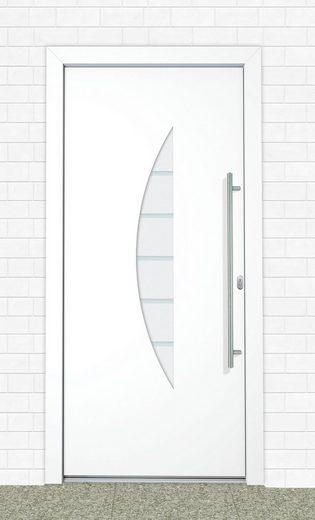 Roro Aluminium-Haustür »Malta« BxH: 110 x 210 cm, weiß