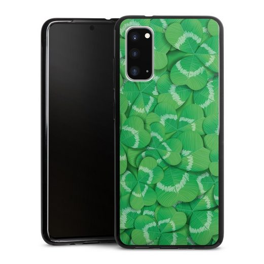 DeinDesign Handyhülle »Clovers« Samsung Galaxy S20, Hülle Glücksbringer Klee Glück