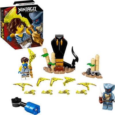 LEGO® Konstruktionsspielsteine »Battle Set: Jay vs. Serpentine (71732), LEGO® NINJAGO®«, (69 St), Made in Europe