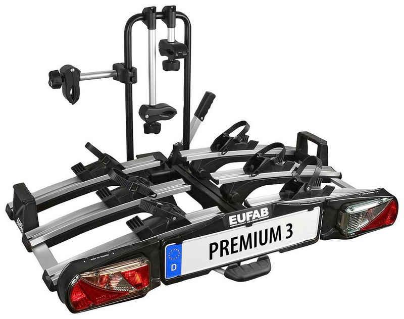 EUFAB Kupplungsfahrradträger »PREMIUM 3«, für max. 3 Räder, abschließbar