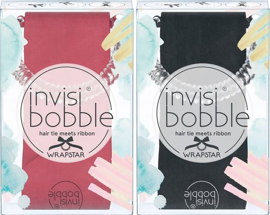 invisibobble Haarband »Wrapstar«, Set, 2-tlg., Machu Peachu & Snake it Off