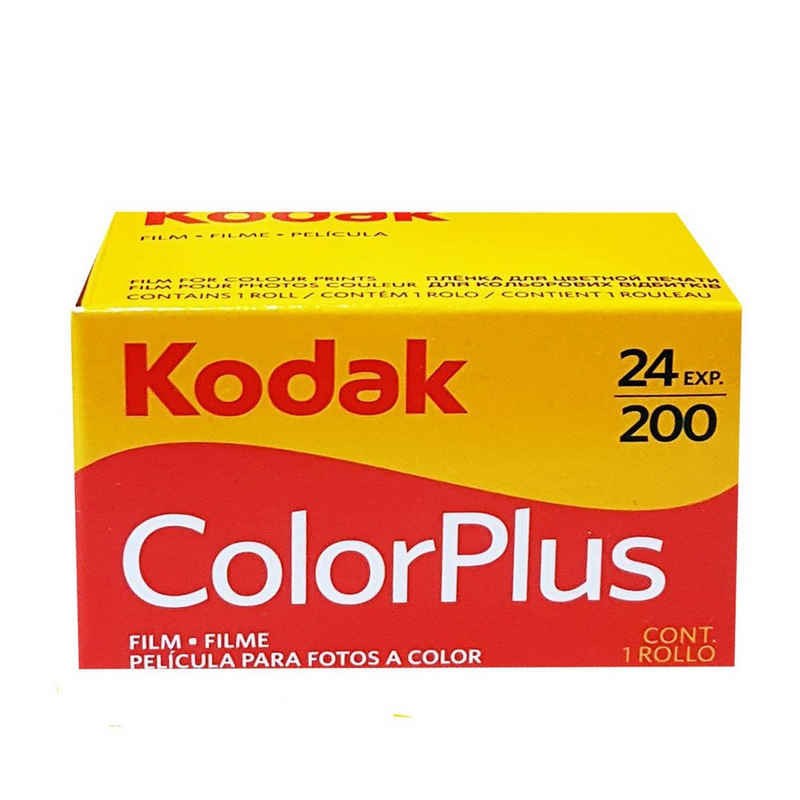 Kodak »1 x Kodak Color plus 200 135/24 Kleinbildfilm für« Superzoom-Kamera