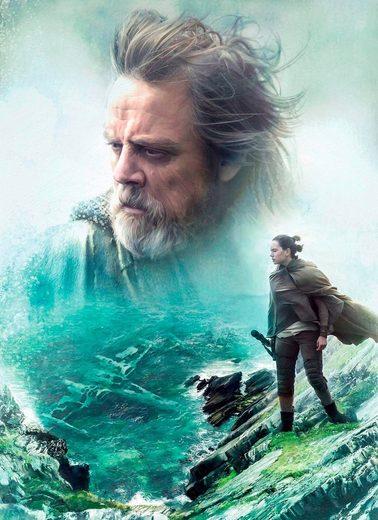 Komar Fototapete »Star Wars/The last Jedi«, glatt, Comic