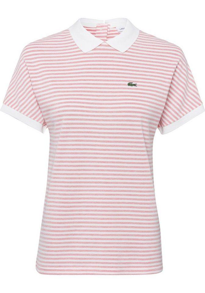lacoste -  Poloshirt im maritimen Streifenmuster