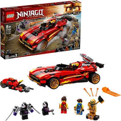 LEGO® Konstruktionsspielsteine »X-1 Ninja Supercar (71737),LEGO® NINJAGO®«, (599 St), Made in Europe