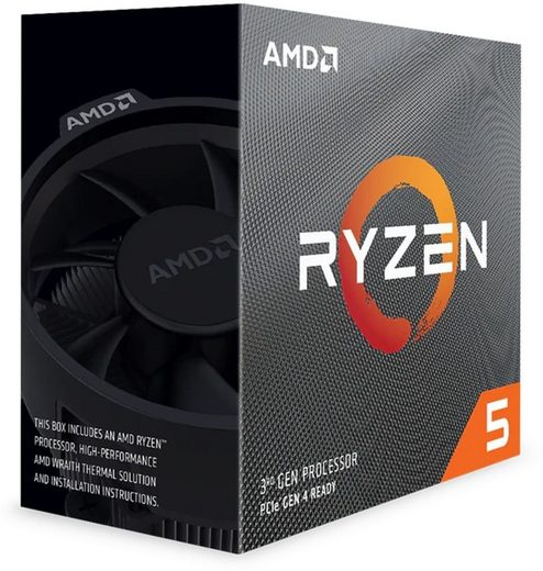 AMD Prozessor »AMD Ryzen 5 3400G Box AM4 (4,200GHz) YD3400C5FHBOX with Wraith Stealth cooler«