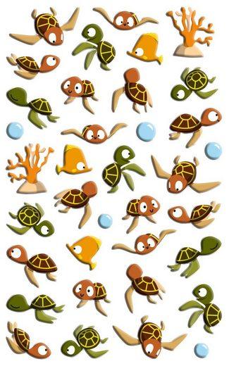 maildor Sticker »Meeresschildkröten«, 30 Stück