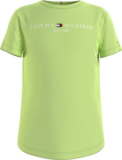 TOMMY HILFIGER T-Shirt mit Tommy Hilfiger Brustdruck
