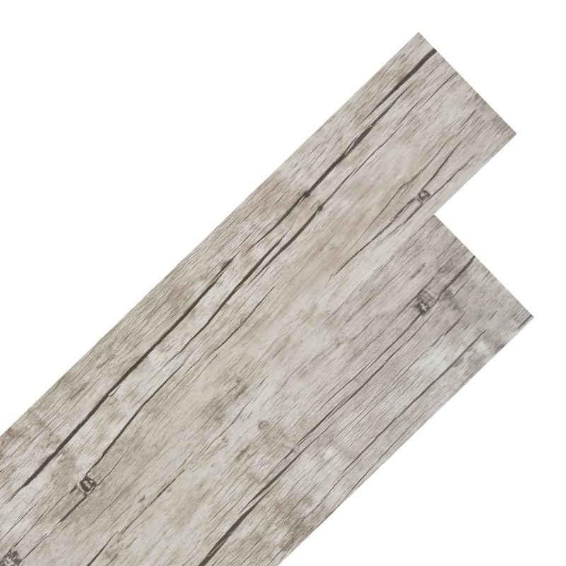 vidaXL Fußboden »vidaXL PVC Laminat Dielen Selbstklebend 5,02 m² 2 mm Eiche Gewaschen«
