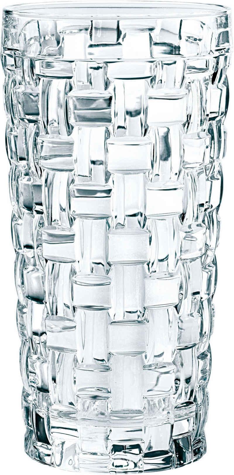 Nachtmann Longdrinkglas »Bossa Nova«, Kristallglas, 395 ml, 6-teilig