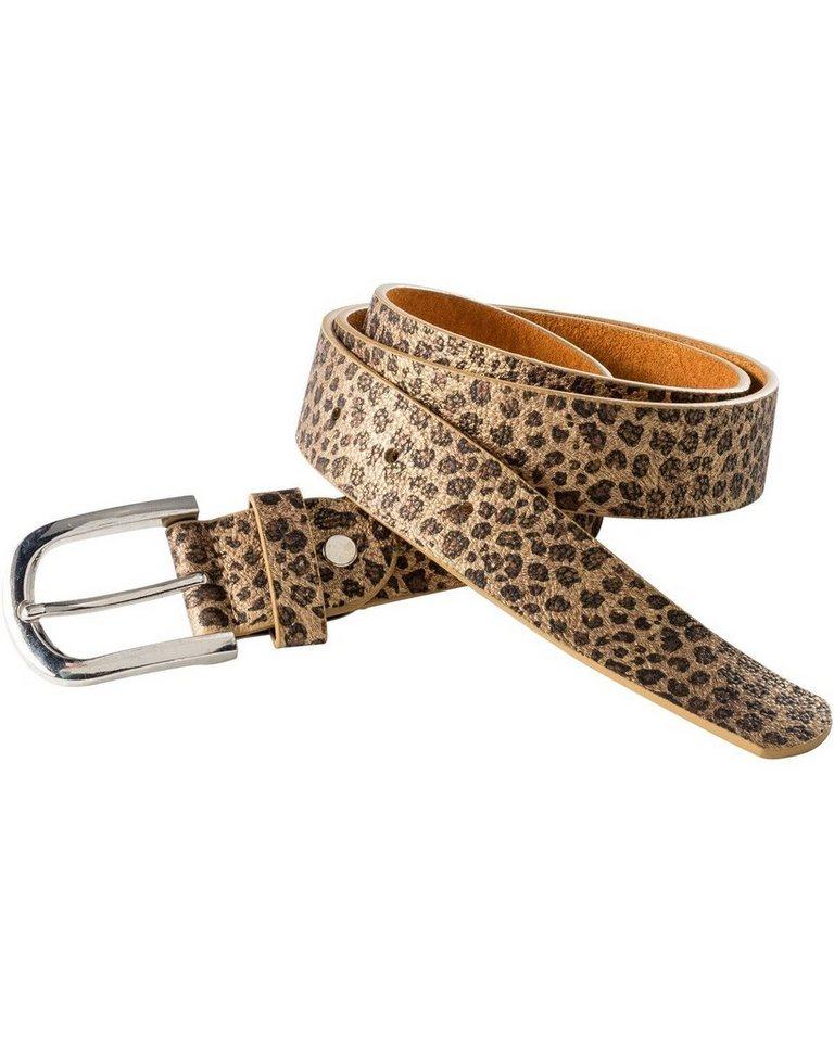 in linea -  Gürtel mit Leoparden-Muster