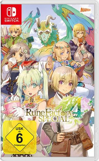 Rune Factory 4 Special Nintendo Switch
