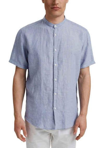 Esprit Kurzarmhemd mit Maokragen