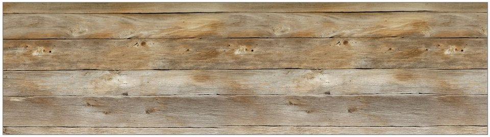 Küchenrückwand - Spritzschutz »profix«, Holz, 220x60 cm online kaufen | OTTO