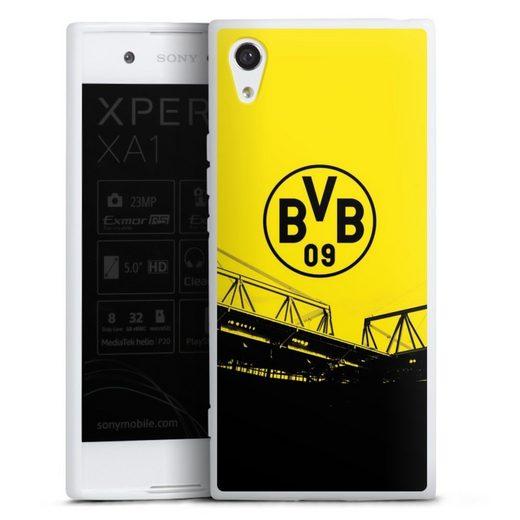 DeinDesign Handyhülle »Stadion Schwarz-Gelb - BVB« Sony Xperia XA 1, Hülle Borussia Dortmund BVB Fanartikel