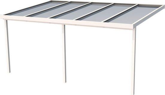 GUTTA Terrassendach »Premium«, BxT: 510x306 cm, Dach Polycarbonat Opal