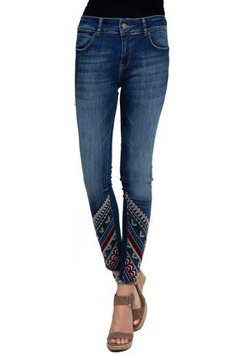 Zhrill 7/8-Jeans »Cindy 7/8« Zhrill Damen Jeanshose 7/8 Vintage 5 Pocket Slim Fit Cindy 7/8