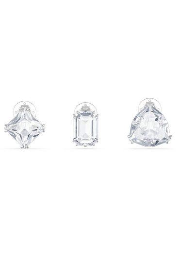 Swarovski Ohrclip-Set »Millenia Ohrclip, Einzel, Set, 5602413« (Set, 3-tlg), mit Swarovski® Kristall