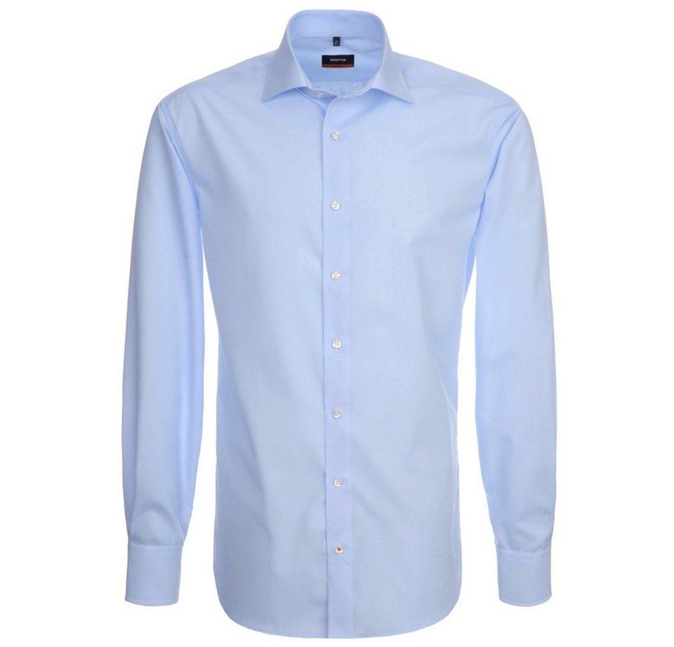 Eterna Hemd »SLIM FIT« in blau