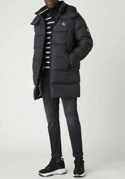 Calvin Klein Jeans Steppjacke »ESS LONG HOODED DOWN JACKET«