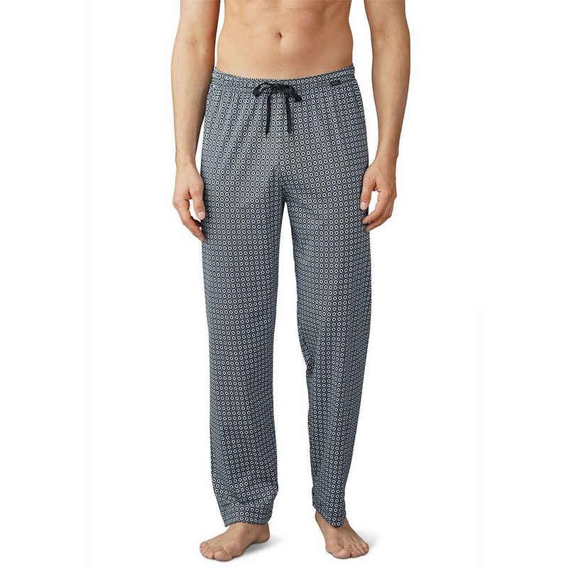 Mey Schlafhose »Basic Lounge Nightwear Mix & Match« Hose lang - Komfortbund mit Kordelzug, Grafischer Print, Natürliches Tragegefühl