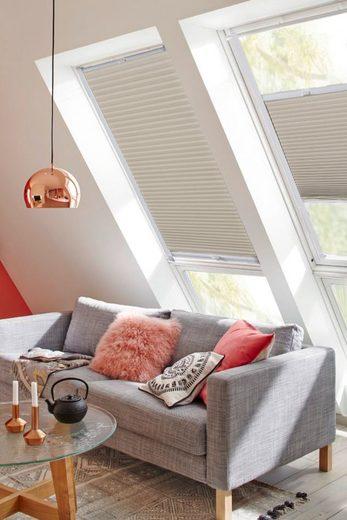 Dachfensterplissee »StartUp Style Honeycomb TL«, sunlines, Lichtschutz, verspannt, mit Führungsschienen
