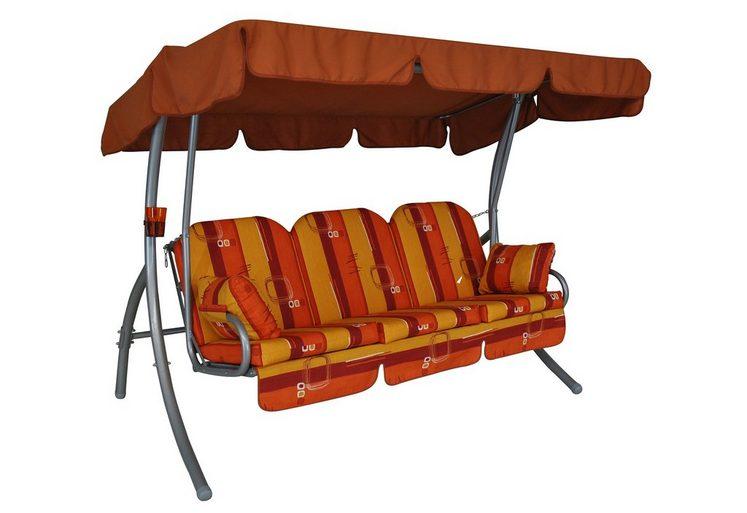 angerer freizeitm bel hollywoodschaukel ibiza 3 sitzer orange online kaufen otto. Black Bedroom Furniture Sets. Home Design Ideas