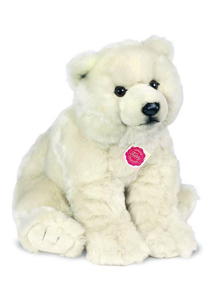 Teddy Hermann® COLLECTION Plüschtier Bär, »Eisbär sitzend« in weiß