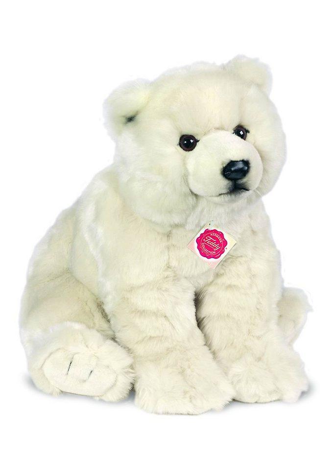 Teddy Hermann® COLLECTION Plüschtier Bär, »Eisbär sitzend«