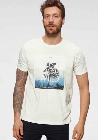 Esprit T-Shirt mit Logoprint