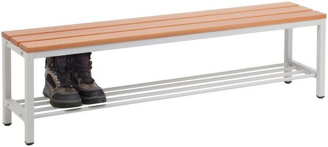 Garderoben Sets - SZAGATO Sitzbank für Umkleideräume, mit Schuhrost  - Onlineshop OTTO