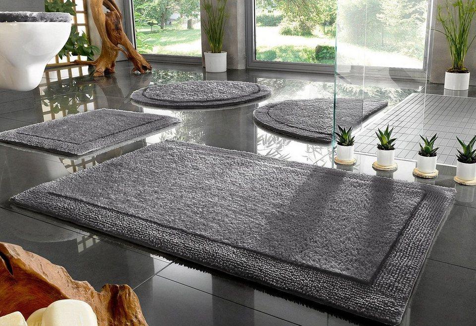 badematte home affaire collection kapra beidseitig verwendbar bio baumwolle online kaufen. Black Bedroom Furniture Sets. Home Design Ideas