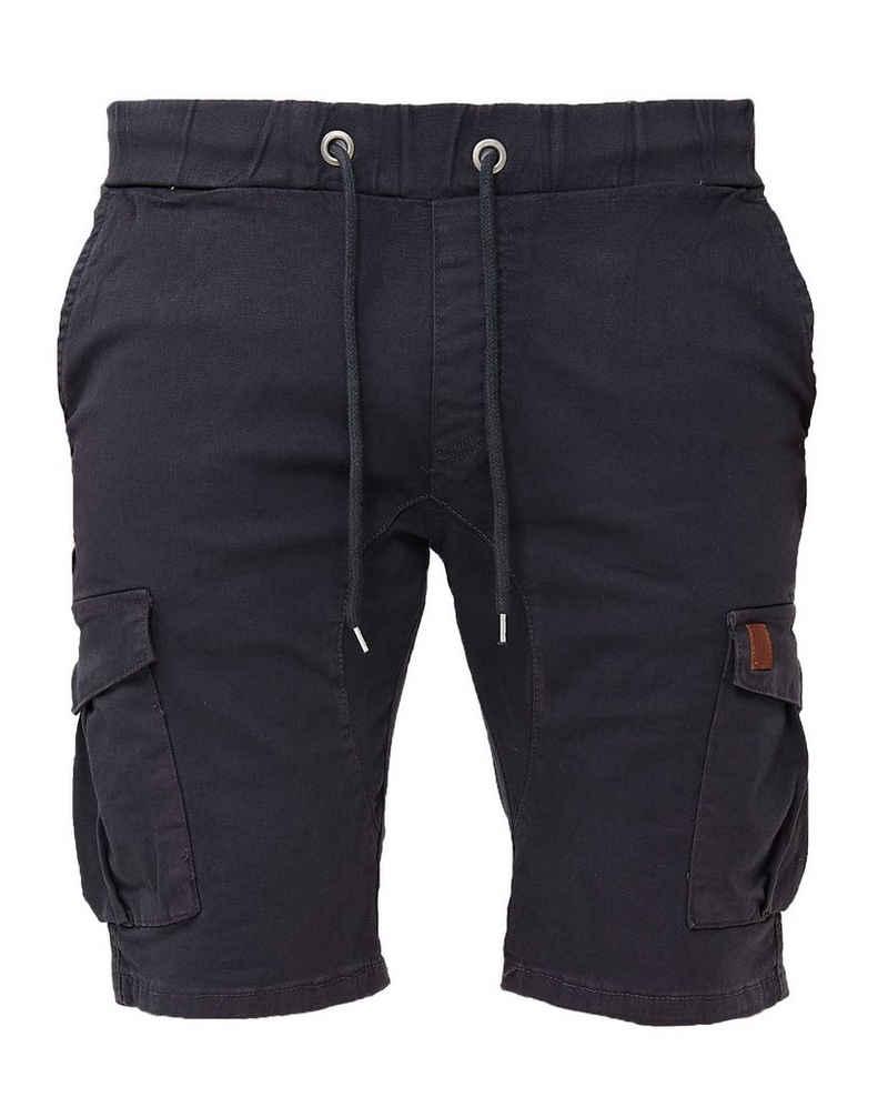 John Kayna Shorts »Herren Shorts Kurze Hose Chino Sweatshorts Chino-S« (Kurze Hose Bermudas Sweatpants, 1-tlg., mit modischen Schnitten und Designs) Freizeit Casual Urban