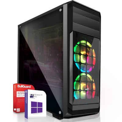 SYSTEMTREFF Basic Edition 60010 Gaming-PC (AMD Athlon 3000G AMD Athlon 3000G, Radeon RX Vega3 3-Core Grafikchip, 16 GB RAM, 500 GB HDD, 120 GB SSD)