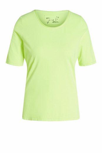 Oui T-Shirt »T-Shirt aus Organic Cotton«