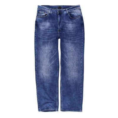 Lavecchia 5-Pocket-Jeans »Herren Übergrößen Jeanshose« Übergrößen Jeanshose