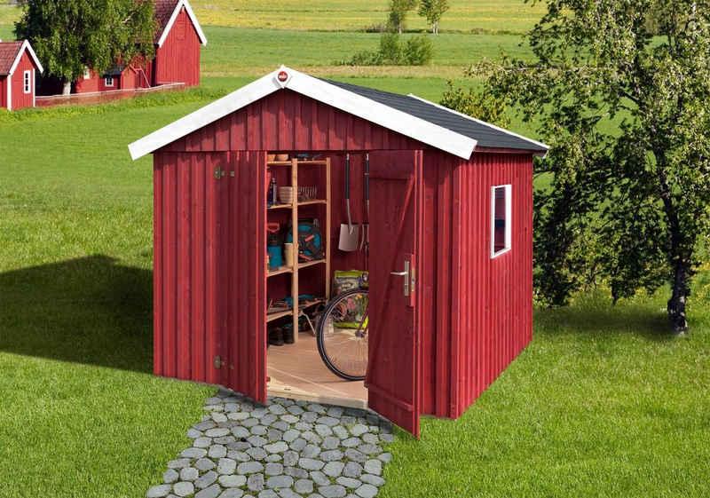 weka Gartenhaus »Schwedenhaus«, BxT: 277x286 cm