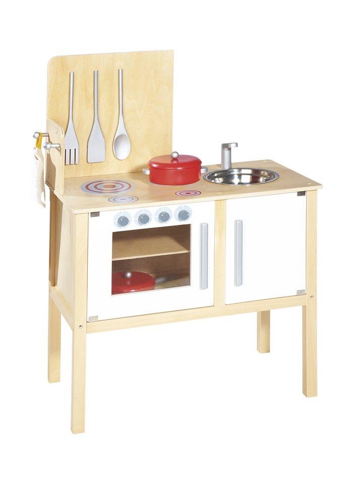 Pinolino Kinderküche Mit Kochbesteck Und Töpfen »Jette«