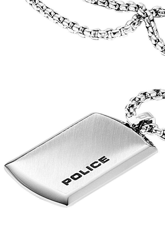 Kette mit Anhänger, POLICE, »PURITY, PJ24920PSS-01« in silberfarben