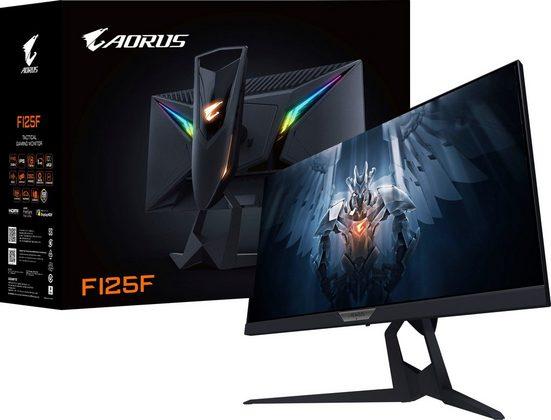 """Gigabyte AORUS FI25F Gaming-Monitor (62,2 cm/24,5 """", 1920 x 1080 Pixel, Full HD, 4 ms Reaktionszeit, 240 Hz, VA LED, Energiesparmoduns 0,5 Watt, Standy-Modus 0,3 Watt)"""